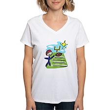 stick man football player T-Shirt