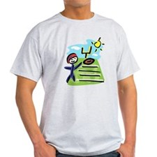 stick man football player T-Shirt