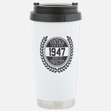 Vintage 1947 Aged To Perfection Travel Mug
