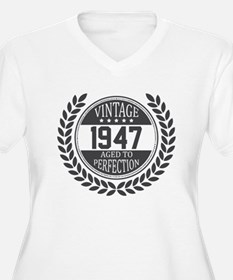 Vintage 1947 Aged To Perfection Plus Size T-Shirt