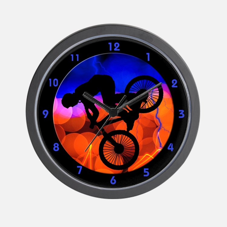 Cute Cycle Wall Clock