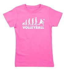 Volleyball Set Evolution Girl's Tee