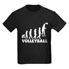 Volleyball Spike Evolution T-Shirt