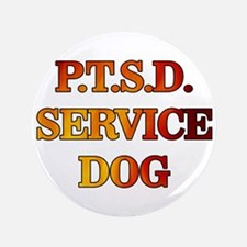 "SERVICE DOG 3.5"" Button"