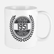Vintage 1951 Aged To Perfection Mugs