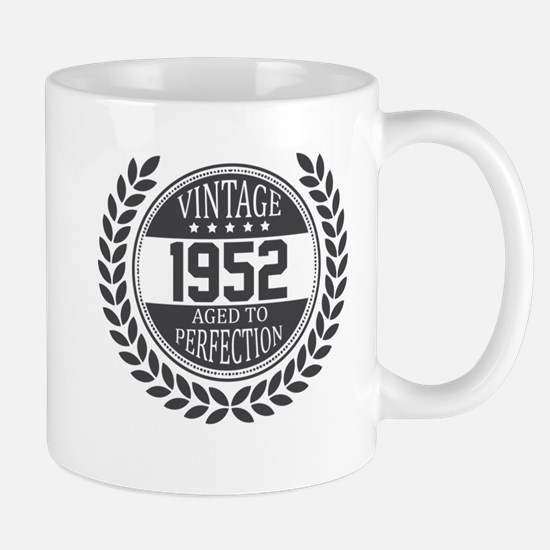 Vintage 1952 Aged To Perfection Mugs
