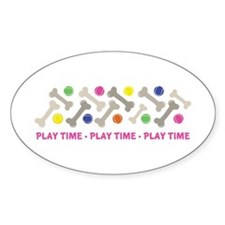 Play Time Decal
