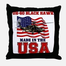 UH-60 Black Hawk Throw Pillow