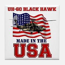 UH-60 Black Hawk Tile Coaster