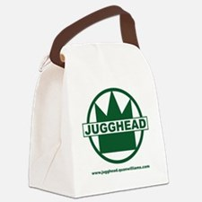 Jugghead logo with text Canvas Lunch Bag