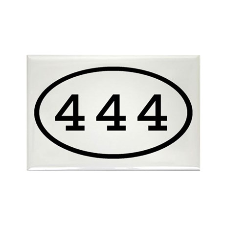 444 Oval Rectangle Magnet (100 pack)