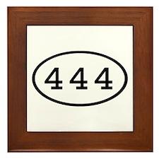 444 Oval Framed Tile