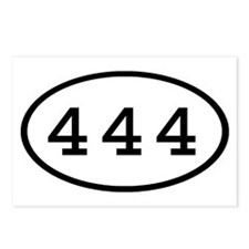 444 Oval Postcards (Package of 8)