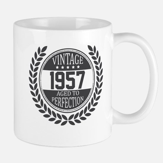 Vintage 1957 Aged To Perfection Mugs