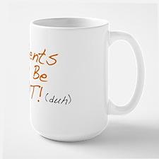 Contents May Be Hot Large Mug Mugs