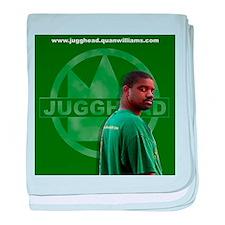 Jugghead photo with logo baby blanket