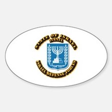 State of Israel Sticker (Oval)
