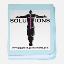 Solutions Logo baby blanket