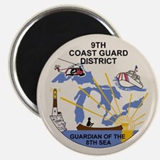 9th Coast Guard District Magnet 100 Pack