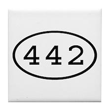 442 Oval Tile Coaster