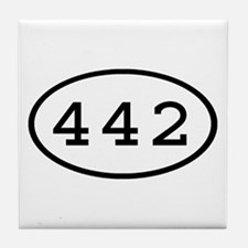 442 Oval Tile Coaster