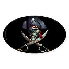 Unique Pirate Decal
