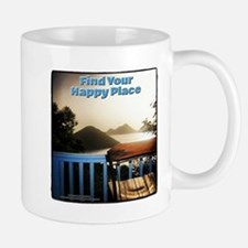 Surreal Thinking Chair - Find Your Happy Place Mug