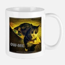 Skateboarding Cat - Meow (ow-me) Mugs