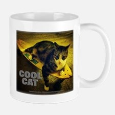 Skateboarding Cat - Cool Cat Mugs