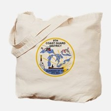 9th Coast Guard District Tote Bag