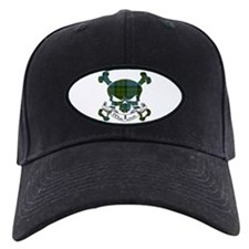 MacLeod Tartan Skull Baseball Hat