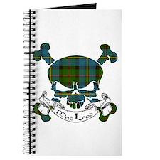 MacLeod Tartan Skull Journal