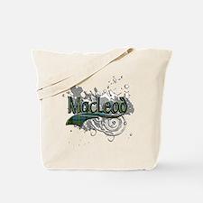 MacLeod Tartan Grunge Tote Bag