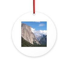 Yosemite El Capitan Round Ornament