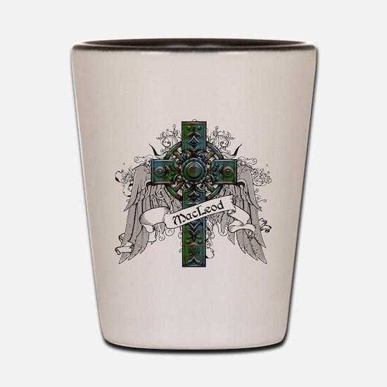 MacLeod Tartan Cross Shot Glass