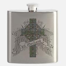MacLeod Tartan Cross Flask