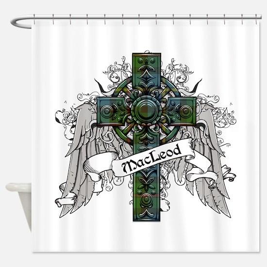 MacLeod Tartan Cross Shower Curtain