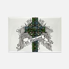 MacLeod Tartan Cross Rectangle Magnet