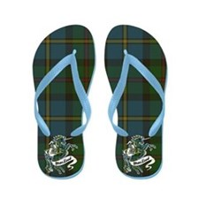 MacLeod Unicorn Flip Flops
