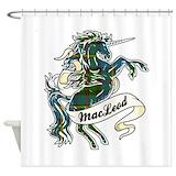 Macleod tartan Shower Curtains