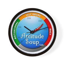 AttitudeSoup.com Wall Clock