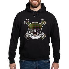 MacLellan Tartan Skull Hoodie