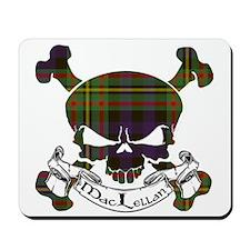 MacLellan Tartan Skull Mousepad