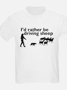 Driving Sheep T-Shirt