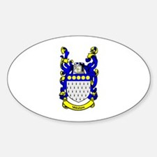 WESTON Coat of Arms Oval Decal
