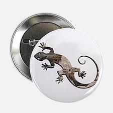 "Brown Stone Gecko 2.25"" Button"