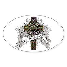 MacLellan Tartan Cross Decal