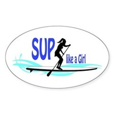 SUP like a Girl Decal