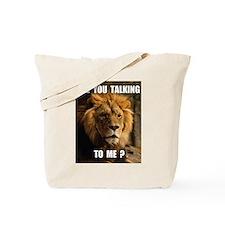 TOUGH LION Tote Bag