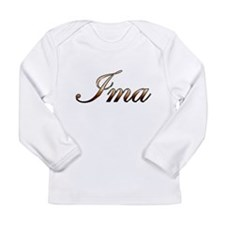 Gold Ima Long Sleeve T-Shirt
